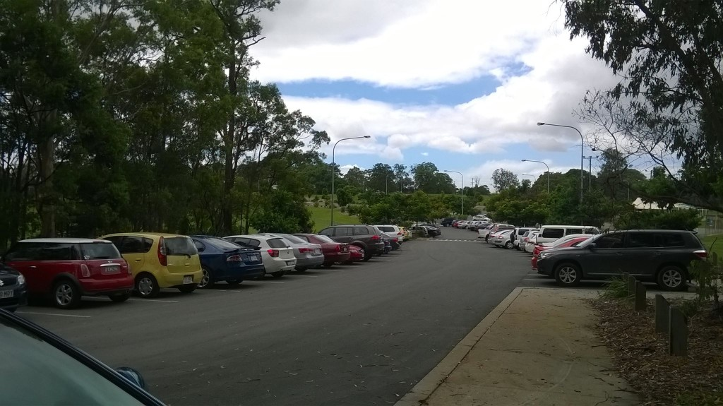 Record numbers parking at Bob Brock Park